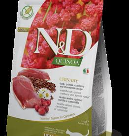 Farmina Cat N&D Quinoa Urinary Duck - Grain-Free 3.3lb