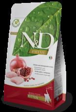 Farmina Cat N&D Prime Chicken & Pomegranate Kitten - Grain-Free 3.3lb