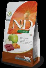 Farmina Cat N&D Pumpkin Venison & Apple - Grain-Free 3.3lb