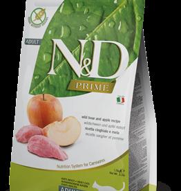 Farmina Cat N&D Prime Boar & Apple - Grain-Free 3.3lb