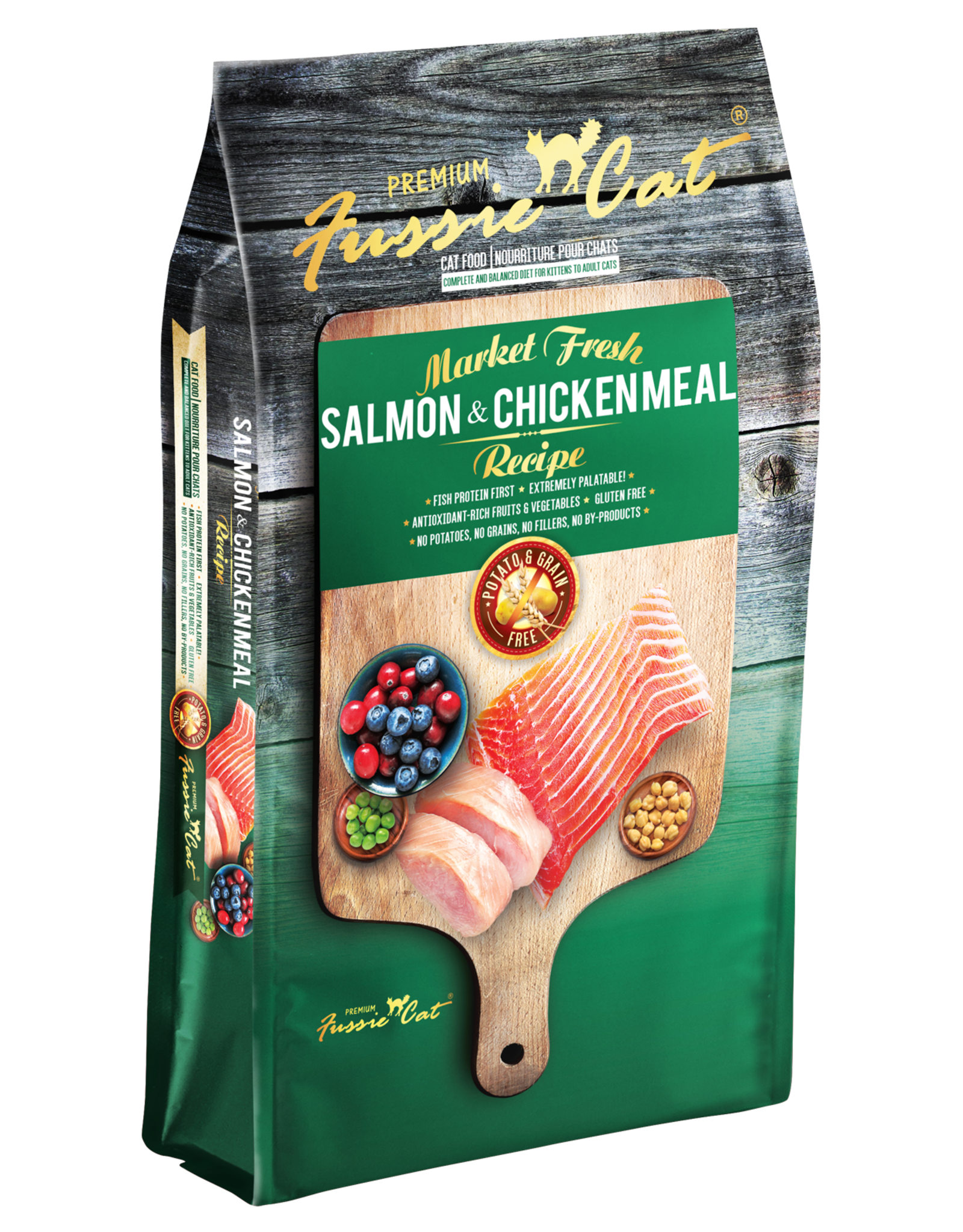Fussie Cat Cat Salmon & Chicken Recipe - Grain-Free 10lb
