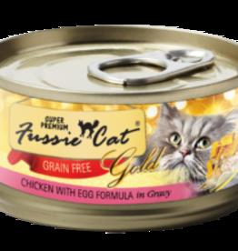 Fussie Cat Cat Chicken & Egg Shredded - Grain-Free 2.82oz