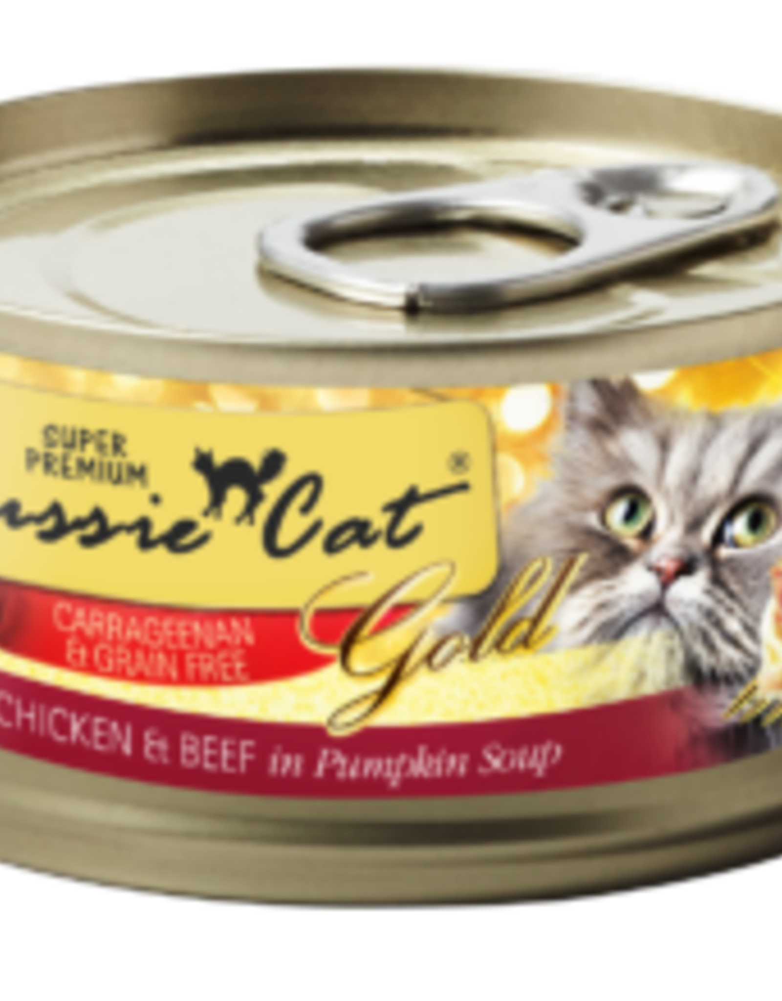 Fussie Cat Cat Chicken & Beef Shredded - Grain-Free 2.82oz