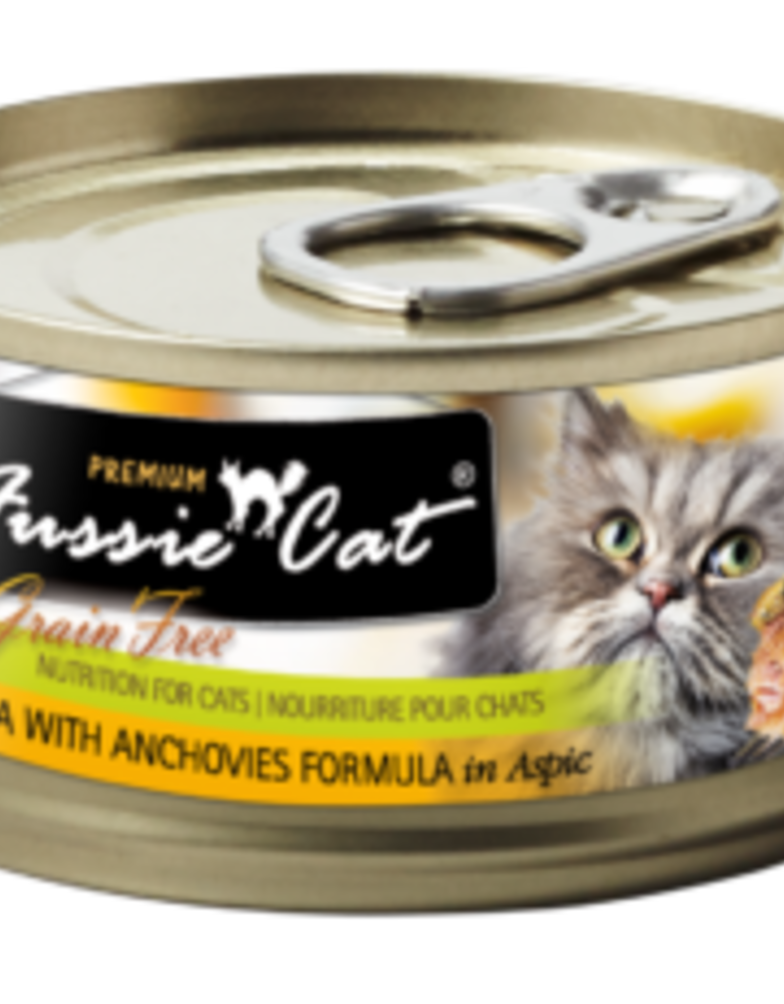 Fussie Cat Cat Tuna & Anchovies Wet Food - Grain-Free 2.82oz
