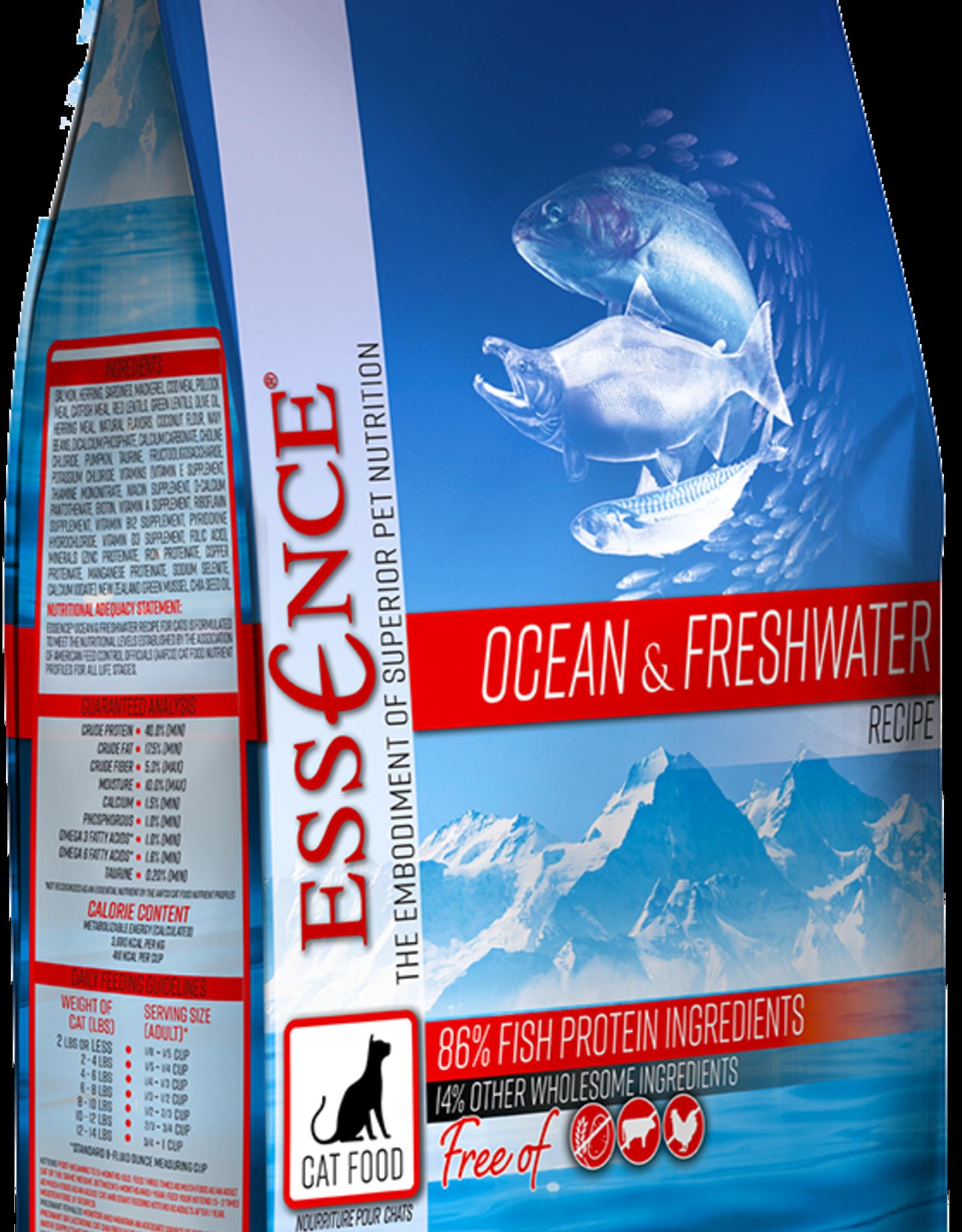 Essence Pet Foods Cat Ocean & Freshwater - Grain-Free 10lb
