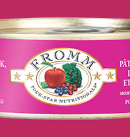 Fromm Family Pet Foods Cat Chicken, Salmon, & Duck Pate - Grain-Free 5.5oz