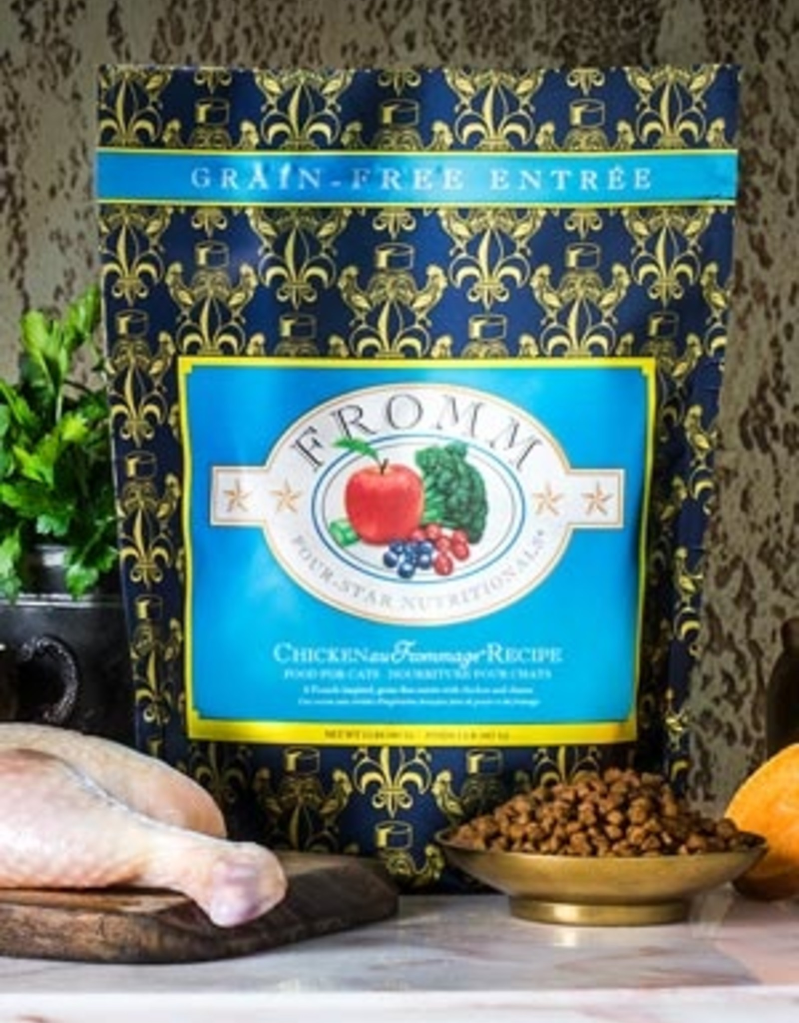 Fromm Family Pet Foods Cat Chicken au Frommage® Recipe - Grain-Free 5lb