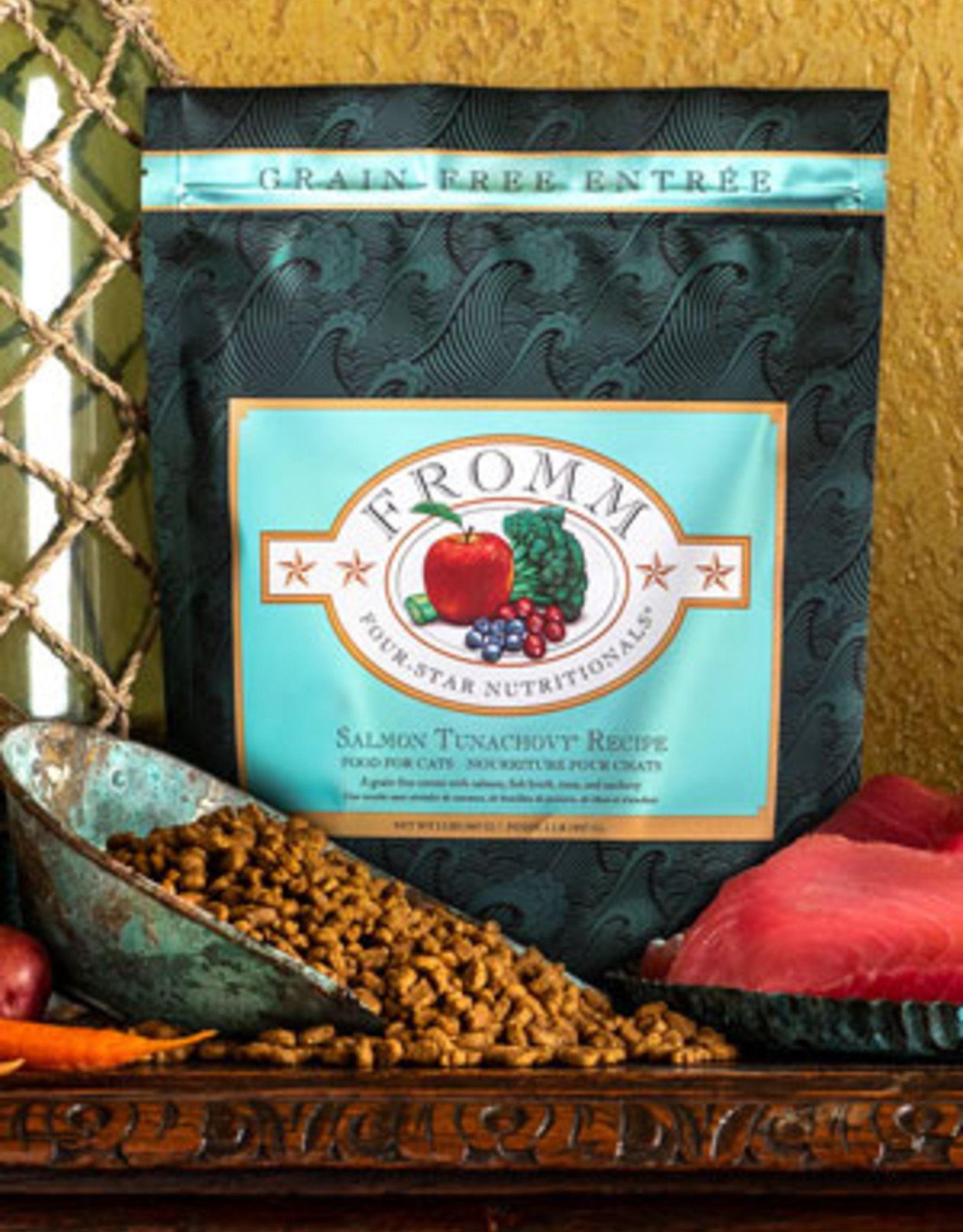 Fromm Family Pet Foods Cat Salmon Tunachovy® Recipe - Grain-Free 15lb