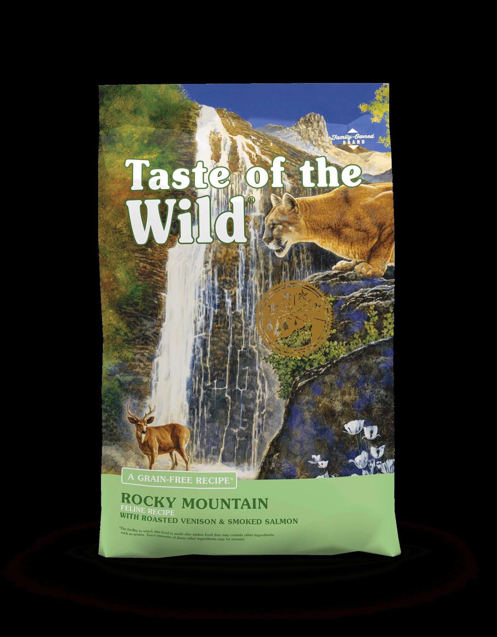 Taste of the Wild Pet Food Cat Rocky Mountain Feline - Grain-Free 5lb