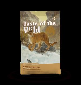 Taste of the Wild Pet Food Cat Canyon River Feline - Grain-Free 5lb