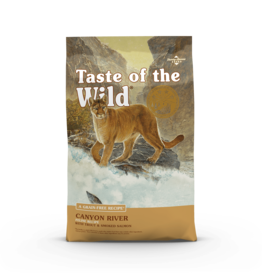 Taste of the Wild Pet Food Cat Canyon River Feline - Grain-Free 14lb