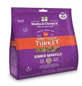 Stella & Chewy's Cat Tummy Ticklin' Turkey Freeze-Dried Raw Dinner 18oz