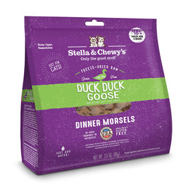 Stella & Chewy's Cat Duck Duck Goose Freeze-Dried Raw Dinner 8oz