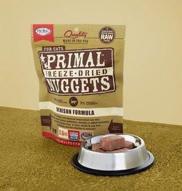 Primal Pet Foods Cat Raw Freeze-Dried Venison 14oz