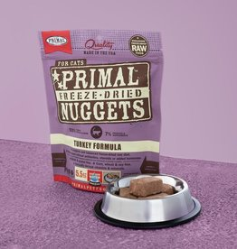Primal Pet Foods Cat Raw Freeze-Dried Turkey 5.5oz