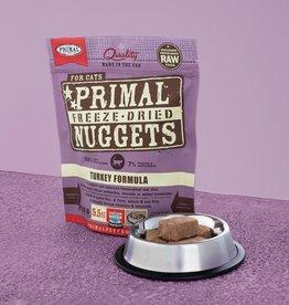 Primal Pet Foods Cat Raw Freeze-Dried Turkey 14oz