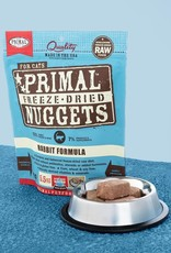 Primal Pet Foods Cat Raw Freeze-Dried Rabbit 5.5oz
