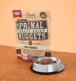 Primal Pet Foods Cat Raw Freeze-Dried Pork 5.5oz