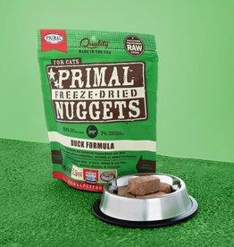 Primal Pet Foods Cat Raw Freeze-Dried Duck 14oz