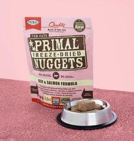 Primal Pet Foods Cat Raw Freeze-Dried Beef & Salmon 5.5oz