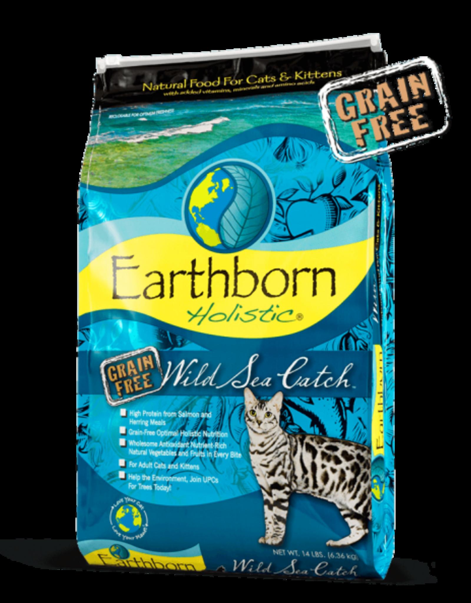 Earthborn Holistic Cat Wild Sea Catch - Grain-Free 14lb