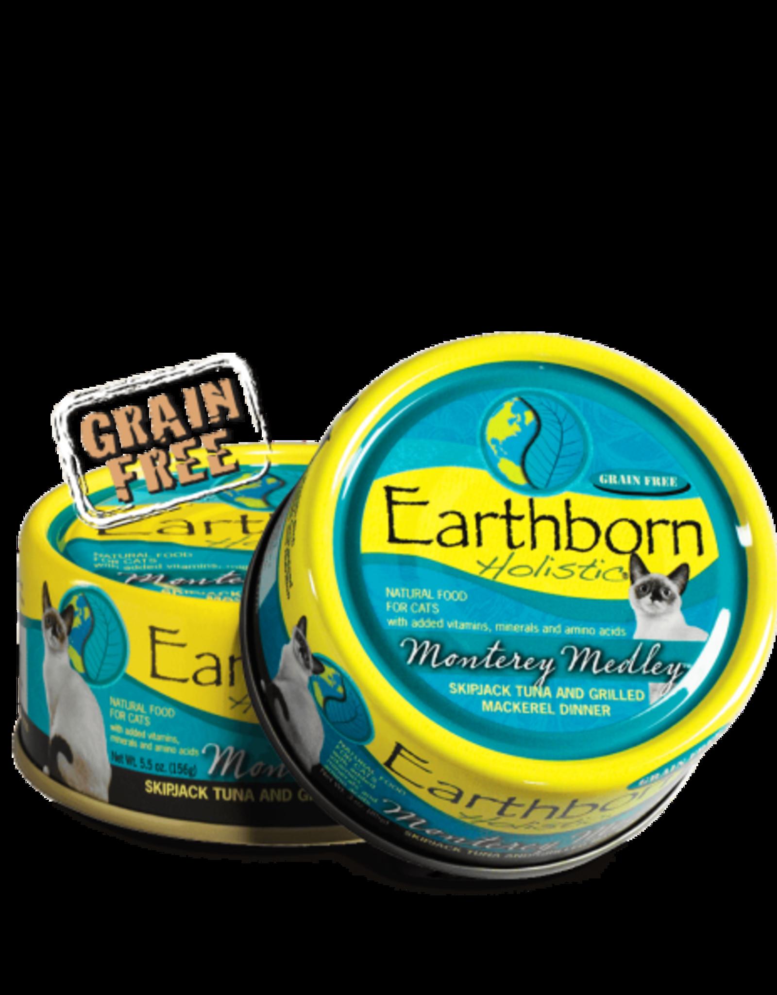 Earthborn Holistic Cat Monterey Medley Shredded - Grain-Free 3oz