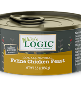Natures Logic Cat Chicken Feast Pate - Grain-Free 5.5oz