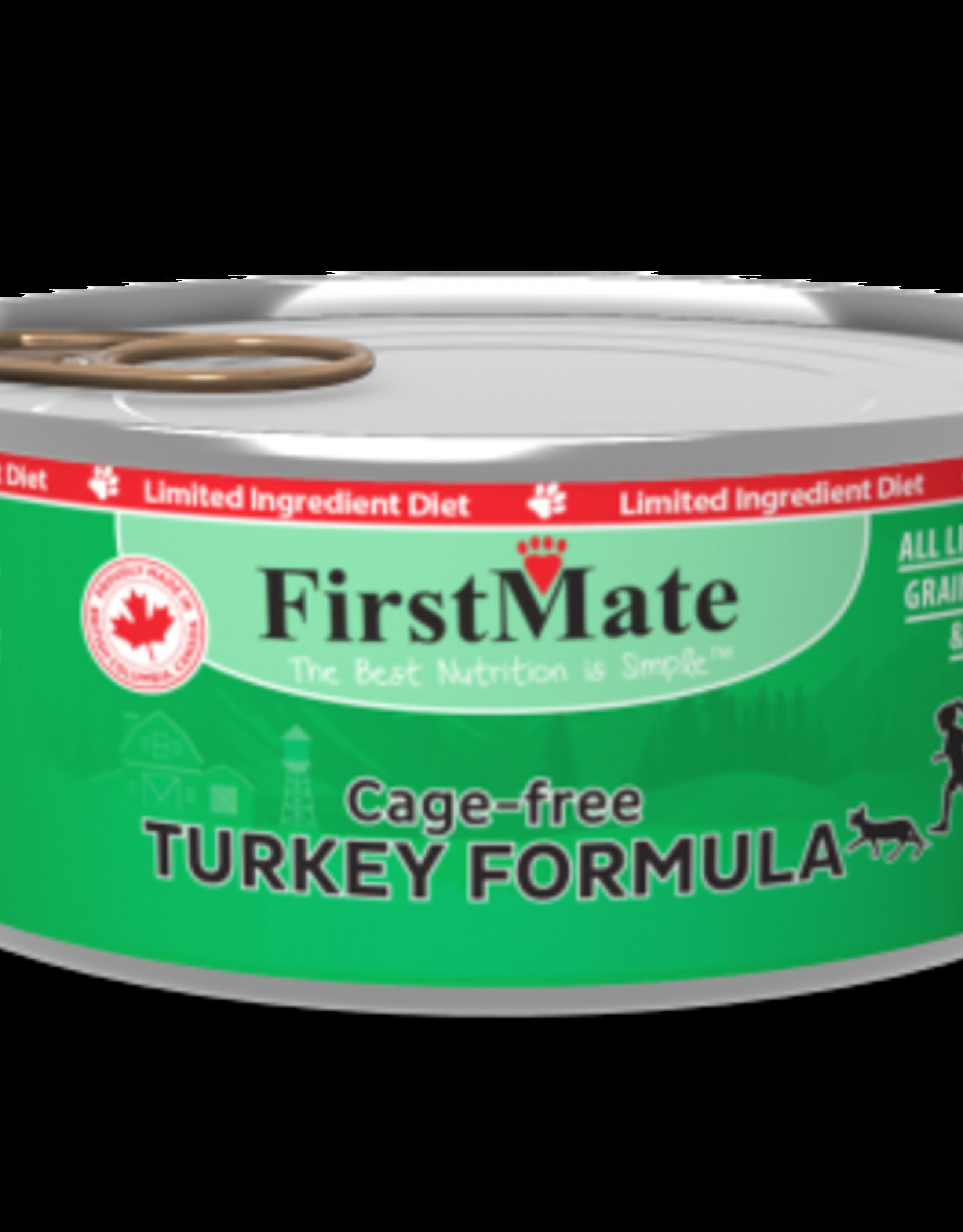 FirstMate Pet Food Cat LID Turkey Pate - Grain-Free 5.5oz