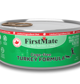 FirstMate Pet Food Cat LID Turkey Pate - Grain-Free 5.5oz