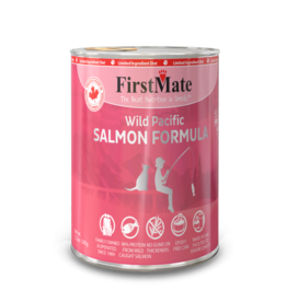 FirstMate Pet Food Cat LID Salmon Pate - Grain-Free 12oz