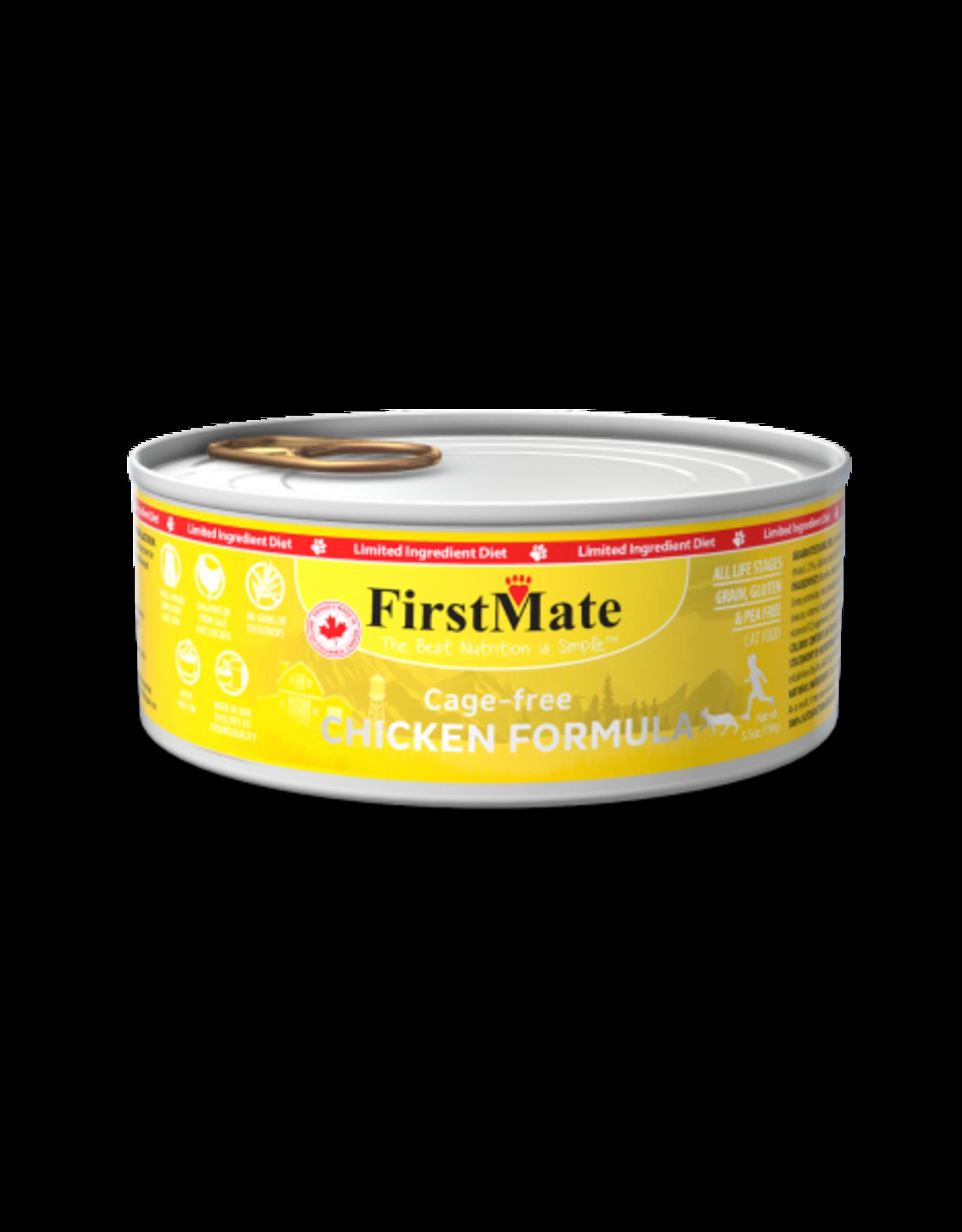 FirstMate Pet Food Cat LID Chicken Pate - Grain-Free 5.5oz