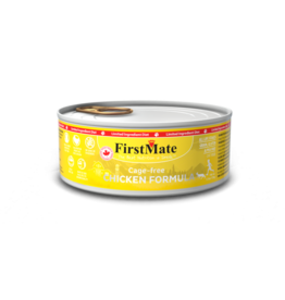 FirstMate Pet Food Cat LID Chicken Pate - Grain-Free 5.5oz