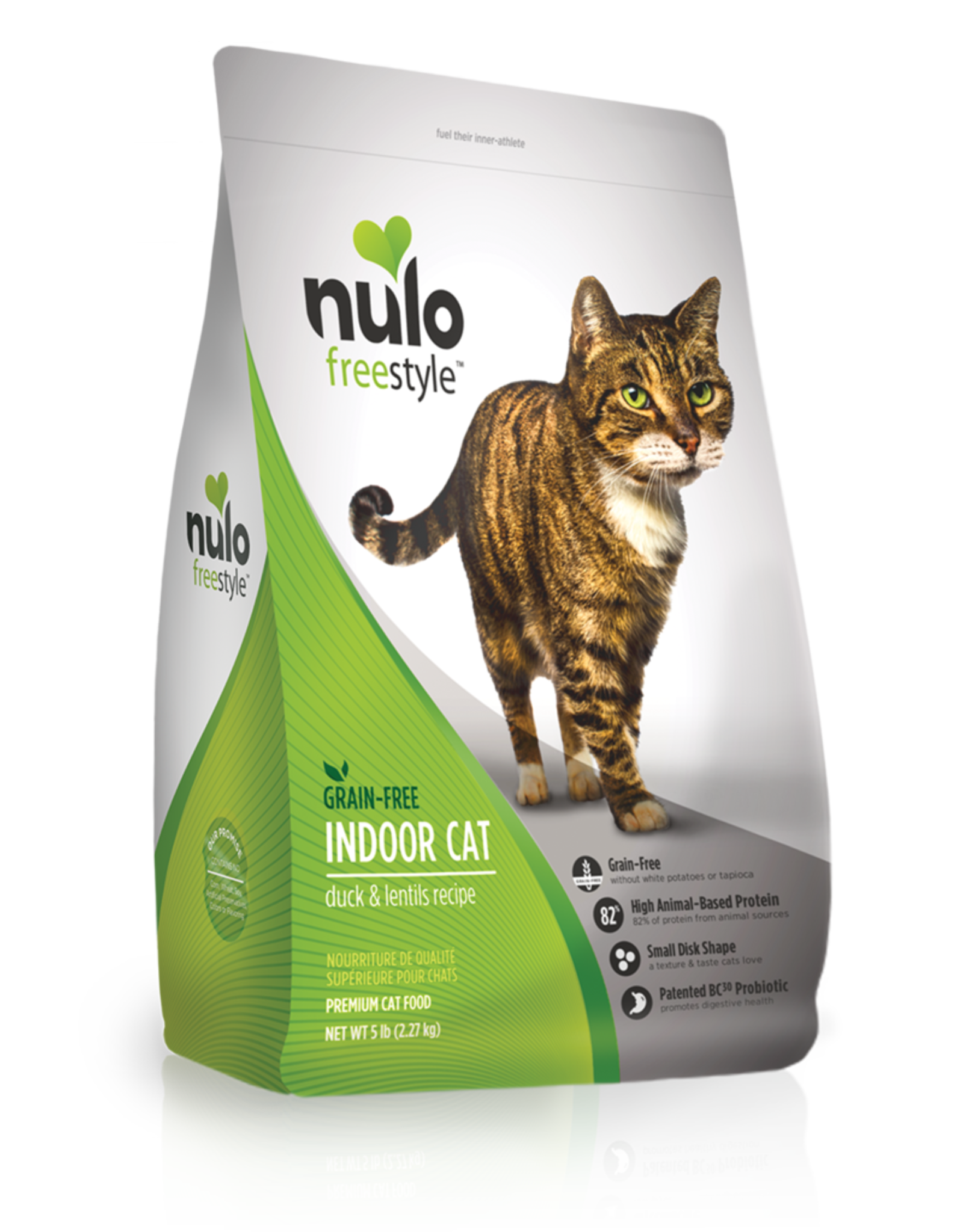 Nulo Cat Indoor Duck Recipe - Grain-Free 5lb
