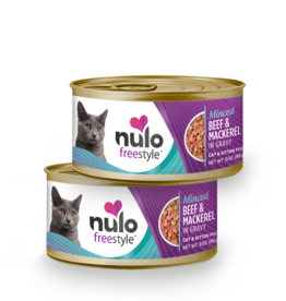Nulo Cat Beef & Mackerel Minced - Grain-Free 3oz