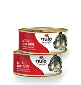 Nulo Cat Beef & Lamb Pate - Grain-Free 5.5oz
