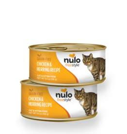 Nulo Cat Chicken & Herring Pate - Grain-Free 5.5oz