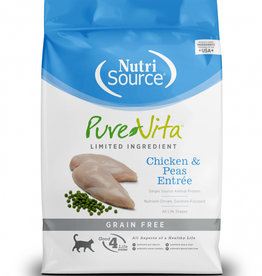 PureVita Cat Chicken & Peas Entree - Grain-Free 2.2lb