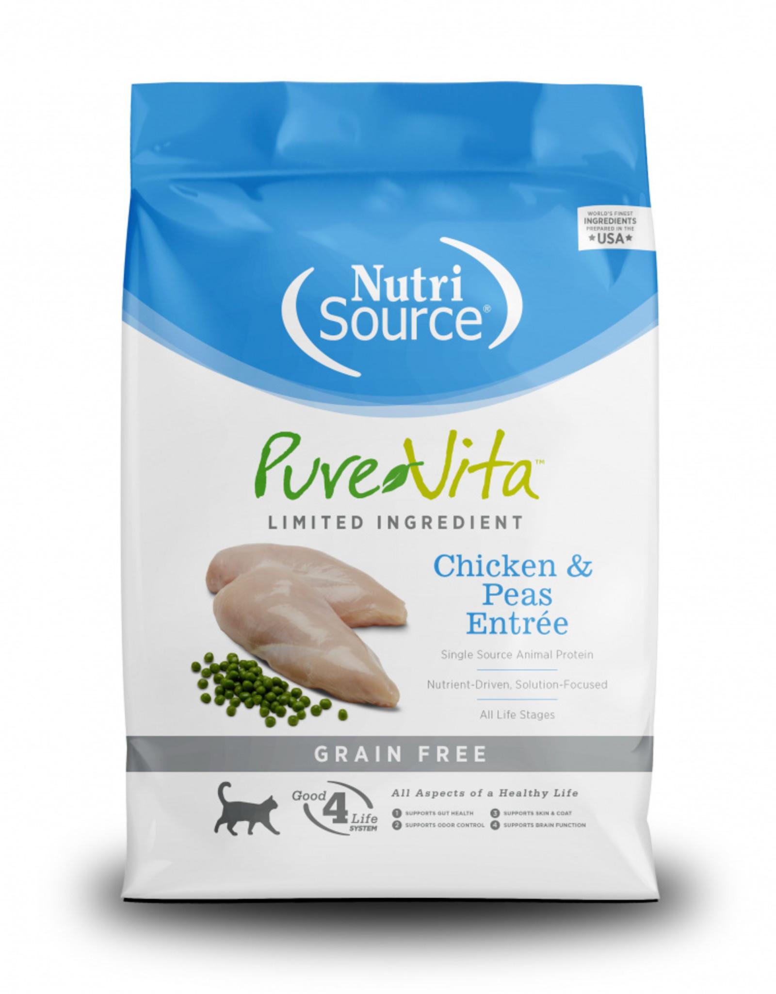 PureVita Cat Chicken & Peas Entree - Grain-Free 6.6lb