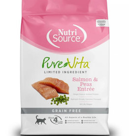 PureVita Cat Salmon & Peas Entree - Grain-Free 6.6lb