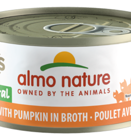 Almo Nature Cat HQS Chicken & Pumpkin in Broth - Grain-Free 2.47oz