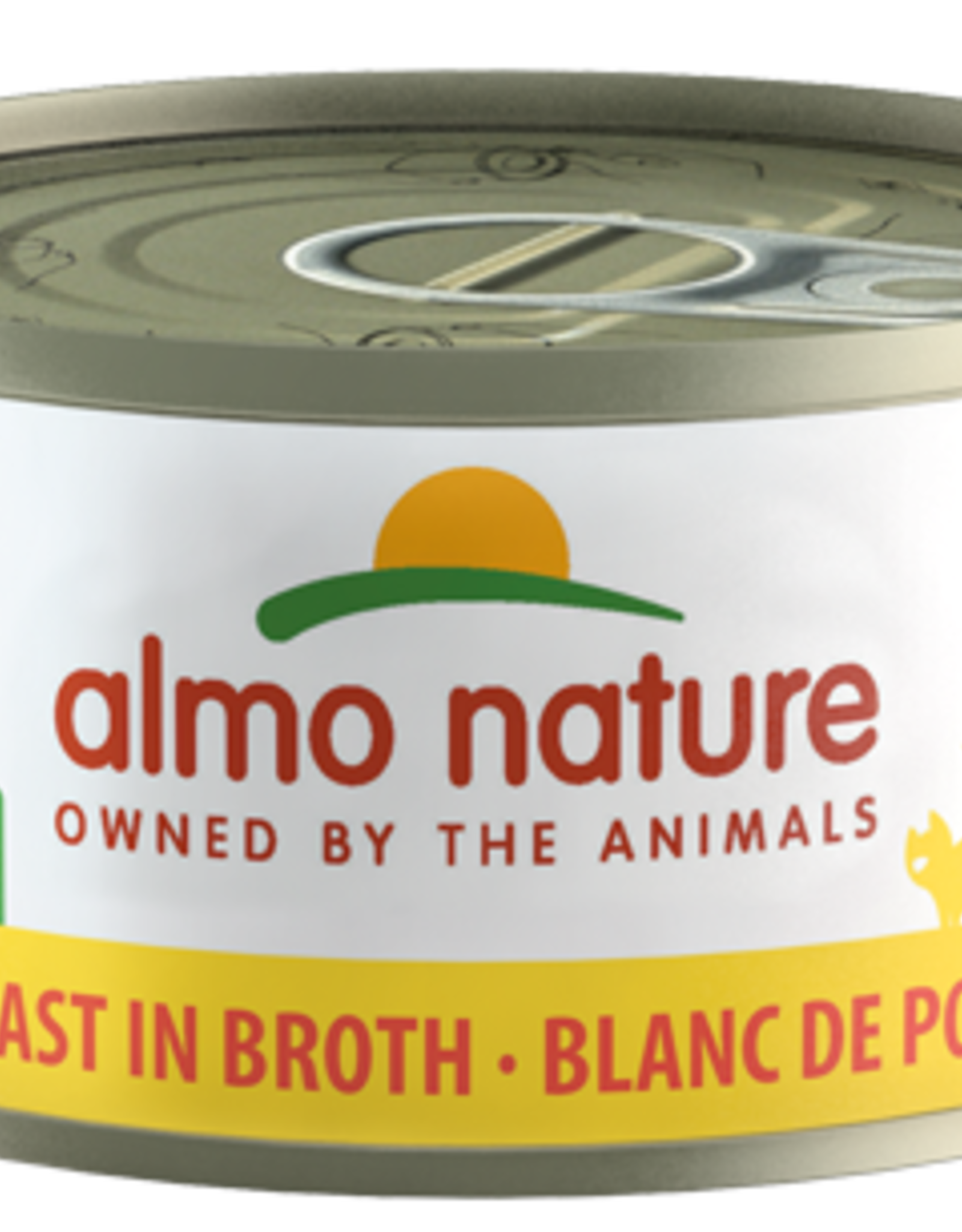 Almo Nature Cat HQS Chicken Breast in Broth - Grain-Free 2.47oz