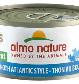 Almo Nature Cat HQS Tuna in Broth Atlantic Style - Grain-Free 2.47oz