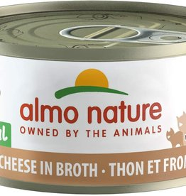 Almo Nature Cat HQS Tuna & Cheese in Broth - Grain-Free 2.47oz