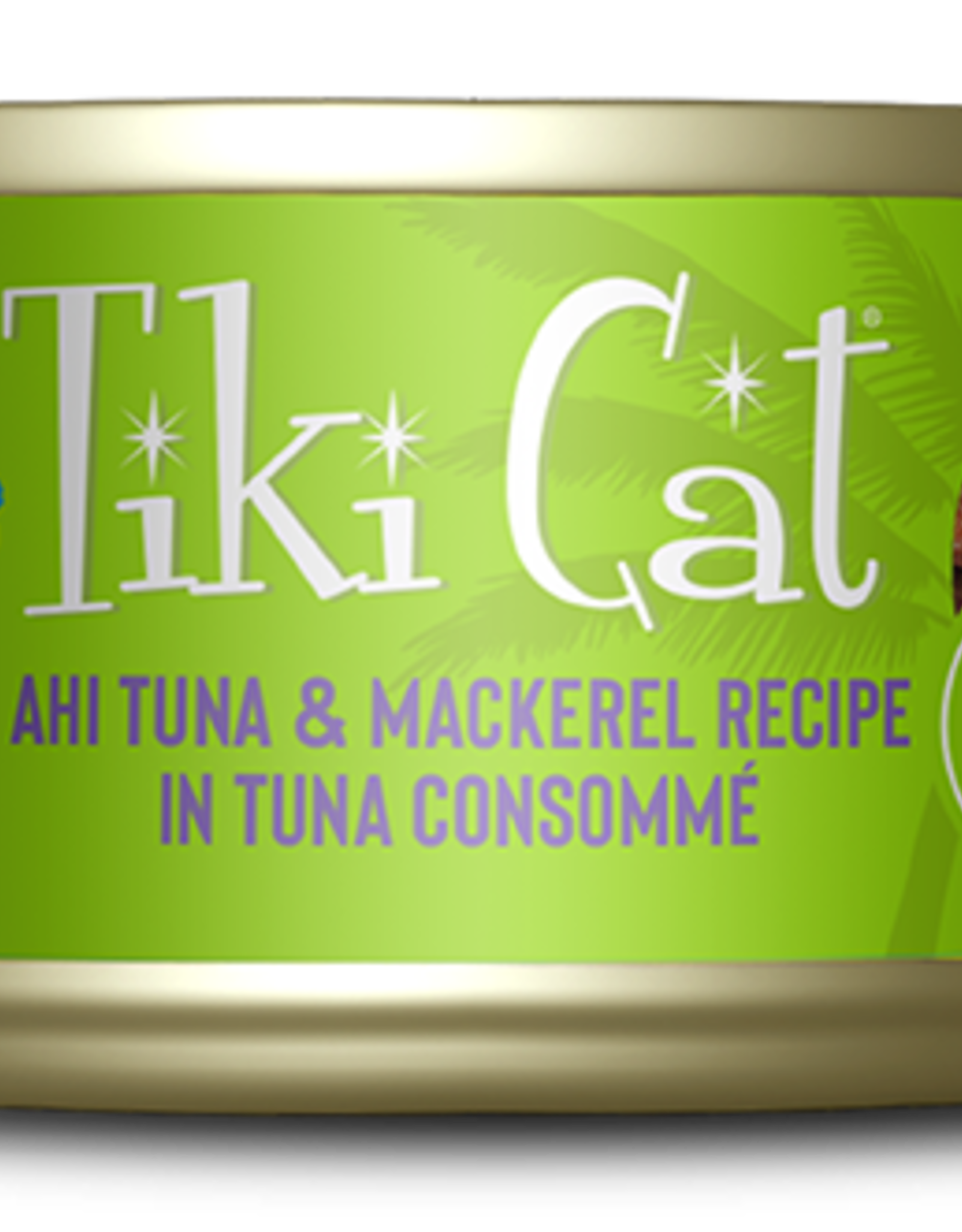 Tiki Pets Cat Tuna & Mackerel Shredded - Grain-Free 6oz