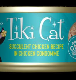 Tiki Pets Cat Succulent Chicken Shredded - Grain-Free 2.8oz