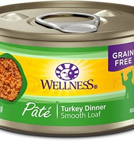 Wellness Pet Food Can Complete Turkey Pate - Grain-Free 5.5oz