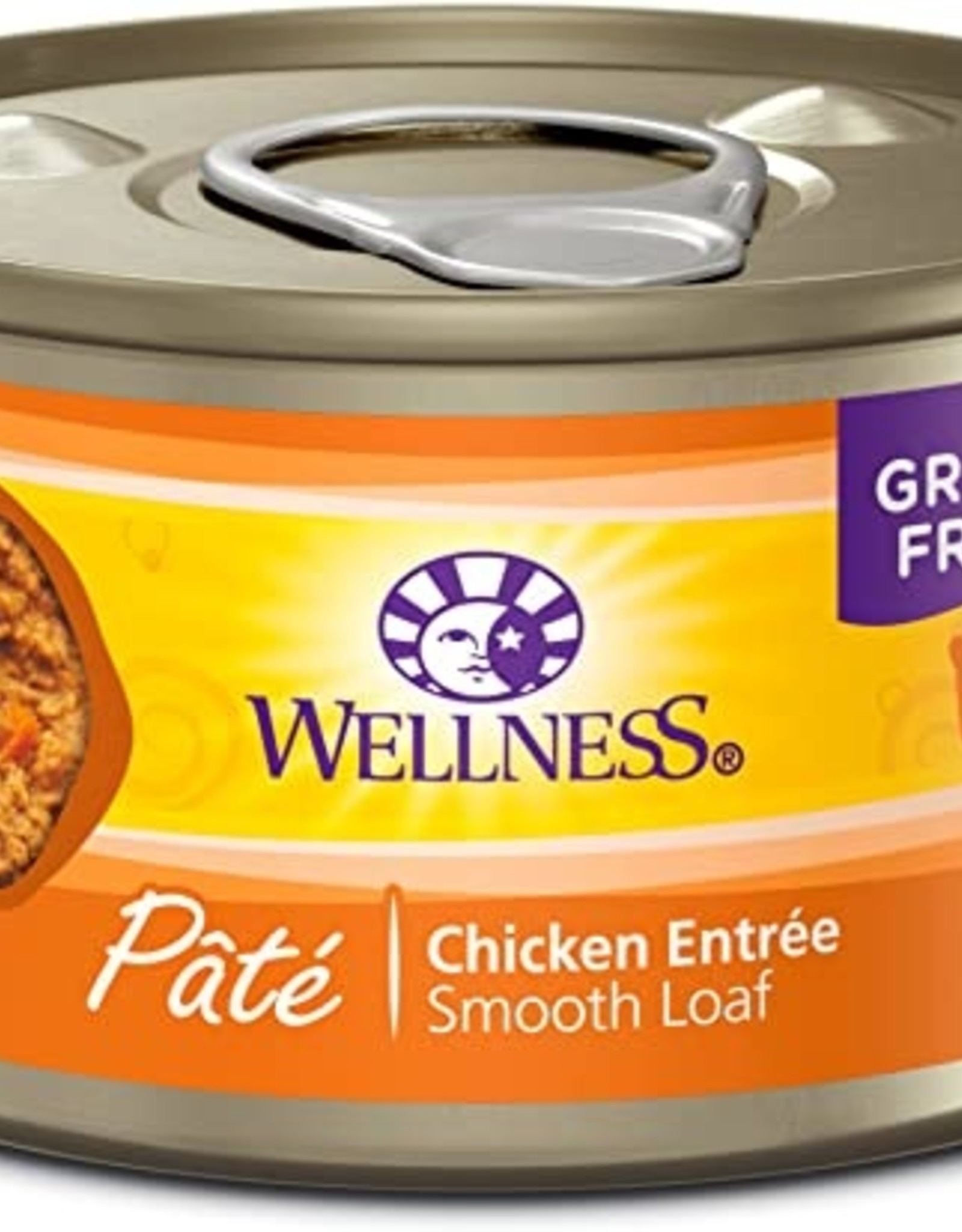 Wellness Pet Food Cat Complete Chicken Pate - Grain-Free 5.5oz