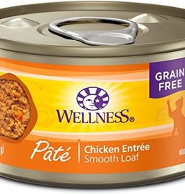 Wellness Pet Food Cat Complete Chicken Pate - Grain-Free 5.5oz