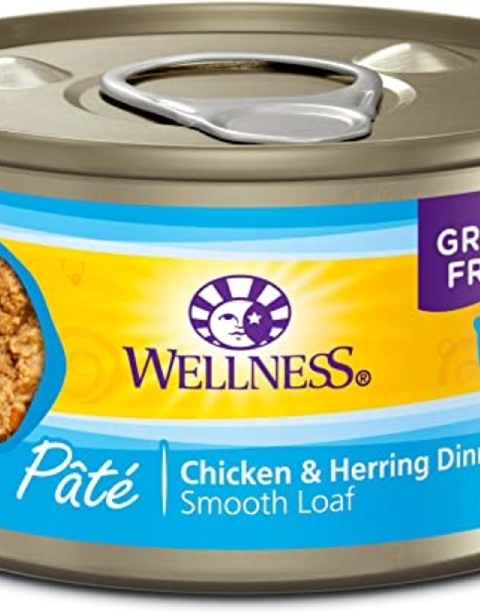 Wellness Pet Food Cat Complete Chicken & Herring Pate - Grain-Free 5.5oz