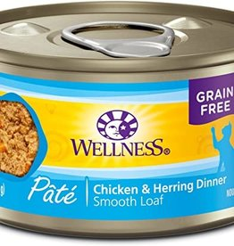 Wellness Pet Food Cat Complete Chicken & Herring Pate - Grain-Free 5.5oz